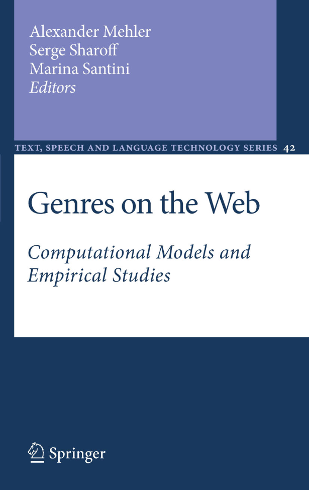 Genres On The Web (2010)